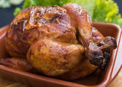 Gegrilde kippen, 1 stuk